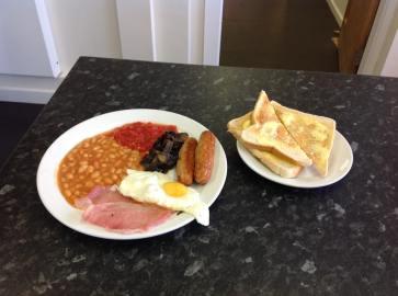 sat breakfast